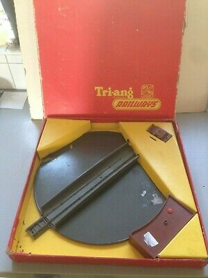 Triang R45 Turntable, Boxed. For The Grey Standard Track. • 49.22€
