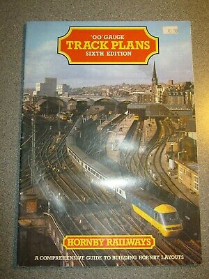 Hornby OO Gauge 6th Edition Track Plans Catalogue • 5.61€