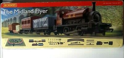 Hornby R1115 The Midland Flyer Complete Train Set Boxed & Fully Tested • 88.96€