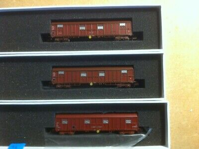 Train160 Sncf. Neufs. 3 Wagons Types Gass. • 65€