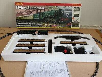 Hornby R1039 Flying Scotsman Set   Dcc Fitted Good Runner Boxed With Track Mat • 105.30€