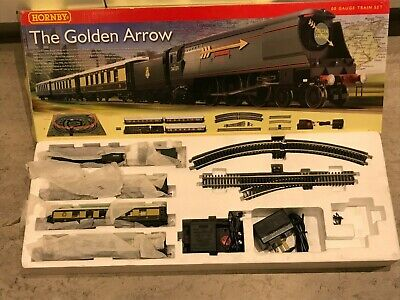 Hornnby R1119 The Golden Arrow Set, With Certificate, Trackmat, Instructions Etc • 209.66€