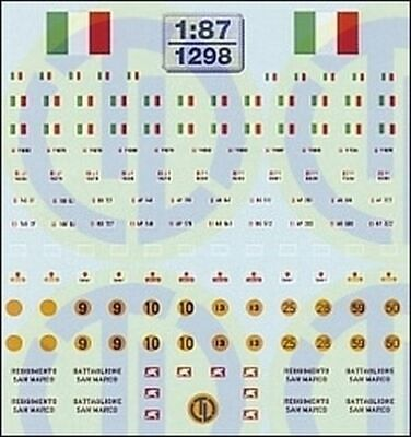 1298 - Decals Italien - Heer 1:87 • 10.15€