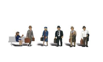 A2155 Personnages  Voyageurs Woodland Scenics 1/160eme  • 20€