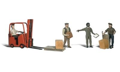 A2192 Personnages Fenwick Manutentionnaires Woodland Scenics 1/160eme  • 25€