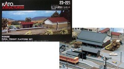 23-221 Kit Batiment Gare Quai KATO Train N 1/160 • 38€