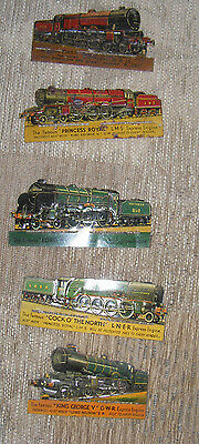 Metal Train Memorabilia King George V, Royal Scot,Lord Nelson, Collection/set • 202.30€
