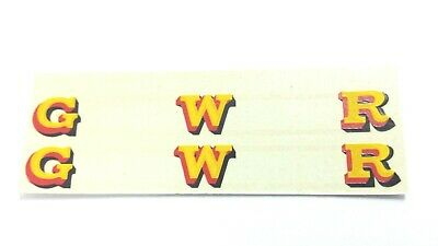 O Gauge Hornby Lima Triang Ect Yellow Gold Gwr X2 Loco Transfers, Water Decals • 4.41€