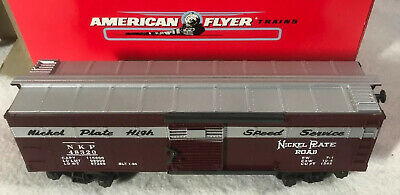 American Flyer ~ Nickel Plaque Route Boxcar   Vitesse Service   ~ #6-48320 • 34.06€