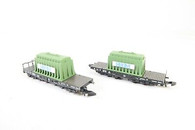 Marklin Z Gauge 82357 Heavy Duty Flat Car Set • 44.68€