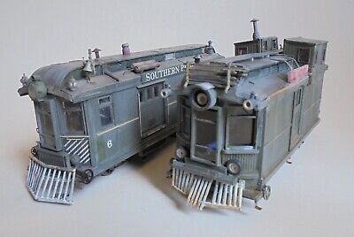 On30 Scratch Built 2 Coach Powered Railcar Broadway Sound Chassis & Dummy • 246.58€