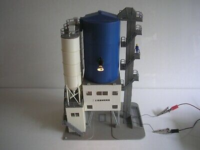 Oo Ho Industrial Sand Gravel Factory Building Silo Tanks Working Light • 44.20€