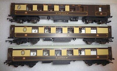 Hornby  Pullman Coaches X 3 Unboxed From Set. Excellent • 17.90€