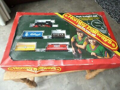 Hornby Train Set Rail Freight Set - Used ?? 1970's Instructions Included • 20.02€