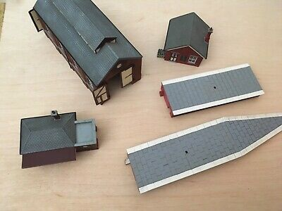 Hornby Skaledale Collection Job Lot Of Buildings And Accessories • 32.80€