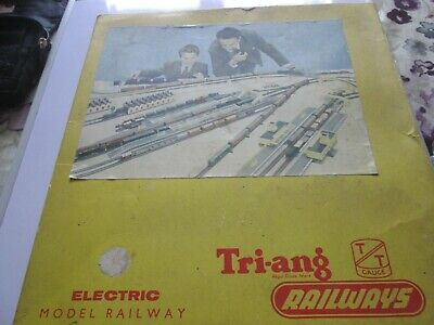Triang TT T5 Trainset Untested And Boxed • 36.58€