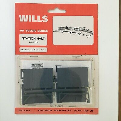 Wills SS25 - Railway - Station Halt Kit 00 Gauge • 7.03€