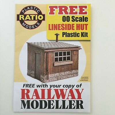 Ratio Railway Lineside Hut Plastic Kit - 00 Gauge • 5.91€