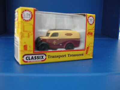 Classix Ford E83W Thames Van British Railways 00/1:76 Scale Blood & Custard • 10.13€