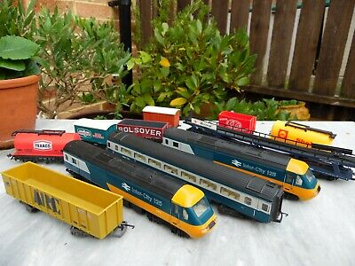 Old Hornby / LINA Model Trains Collection - Played With Condition • 29.25€