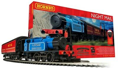 Brand New Boxed R1237 Hornby 00 Gauge  Night Mail  Train Set. NEXT DAY DEL! (2) • 102€