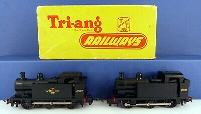2 X Triang Tt Br 0-6-0 Tank Locomotives T90 ( One Boxed With All Packing Pieces • 6.99€