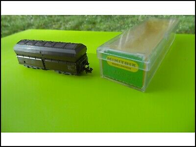 Echelle N Minitrix 3283 Wagon Tremie Train Electrique N • 15€