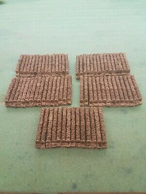 74 Straights All Straights Stone Walling 00 Gauge Scenery Brand And New Boxed. • 22.45€