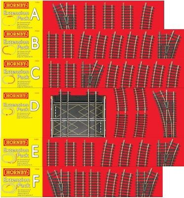 HORNBY Track Packs - Choose From The List • 47.20€