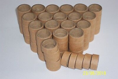 HORNBY DUBLO 100x REPRO CARDBOARD PACKING RINGS FOR 2 & 3 RAIL WAGONS & COACHES • 45.58€