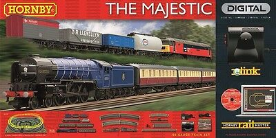 Hornby R1172 The Majestic With E-Link Dcc 00 Gauge Electric Train Set • 773.66€