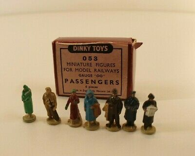 Dinky Toys GB N°053 Passengers Figures Voyageurs Hornby Boîte état Stock Magasin • 69.69€