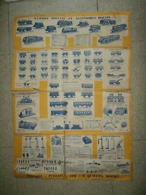 Catalogue Trains Hornby 1939 1940 Jep • 32€