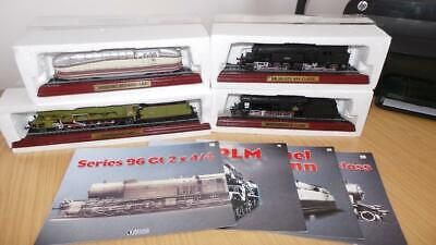 AC20: Collection Of Atlas Editions Static Loco's X 4 • 13.87€
