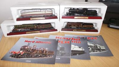 AC19: Collection Of Atlas Editions Static Loco's X 4 • 13.87€