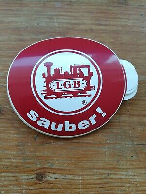 * Original LGB 8.5 Cm Diameter Sticker 01 - Sauber ! (PL) • 1.09€