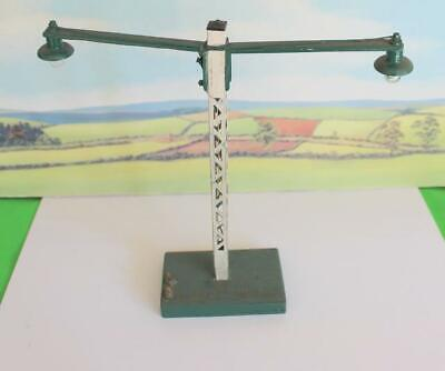 Station Lamp Double Long Arm  Lamp Scratch Built Working O Gauge • 22.11€
