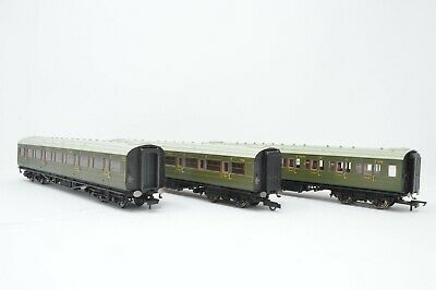 Hornby Rake Of 3 SR Green Maunsell Coaches • 66.71€