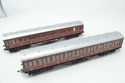 HORNBY OO GAUGE LMS NON-CORRIDOR COACHES X 2 - Pre-owned • 61.47€