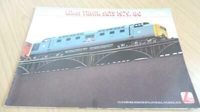 AC312: Lima Railways OO Gauge Catalogue 1979/80 • 4.50€