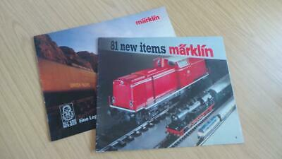 AC317: Marklin Catalogues Big Boy & HO Gauge • 8.44€