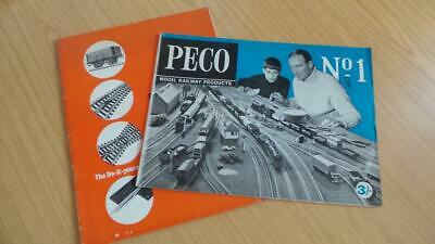 AC315: Peco Railways N & OO/HO Gauge Catalogues No1 & 14th Edition • 6.19€