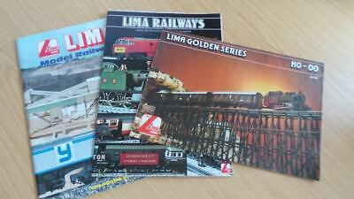 AC314: Lima Railways OO Gauge Catalogues 1995 - 1980/81 X 3 • 8.44€