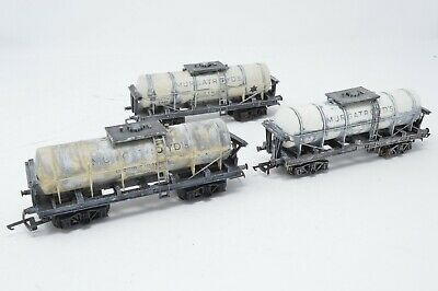 Triang Bogie Tank Wagons  X 3 - Unboxed • 44.74€