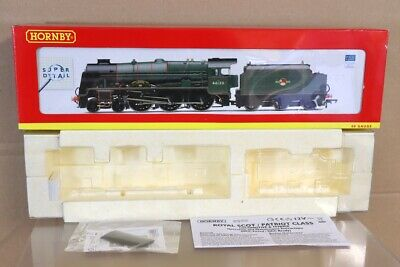 HORNBY R2728 EMPTY BOX For DCC READY BR 4-6-0 ROYAL SCOT LOCO 46120 INNISKILLING • 32.53€