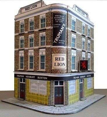 Kingsway, 00 Scale, Red Lion Public House,  Ready Made. • 49.20€