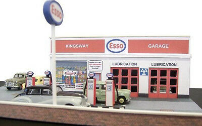 Kingsway, 00 Scale, Modern Filling Station, Ready Made. • 49.74€