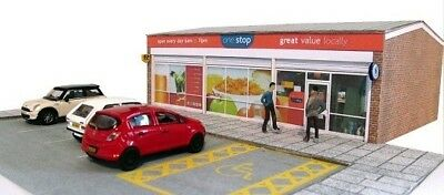 Kingsway, 00 Scale, One Stop Local Store, ** Ready Made ** • 49.20€