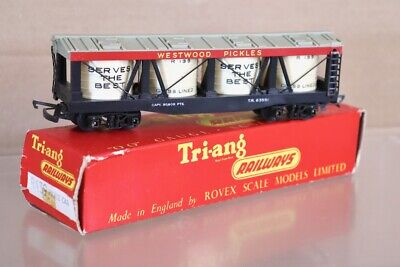 Triang R139 Transcontinental TC Westwood Pickles Wagon Emballé 1961 Version NW • 39.99€