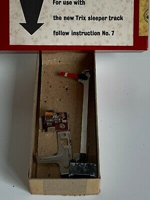 Vintage TTR Trix Twin Railway Lighted Home Manual Signal No.722 Boxed • 27.62€